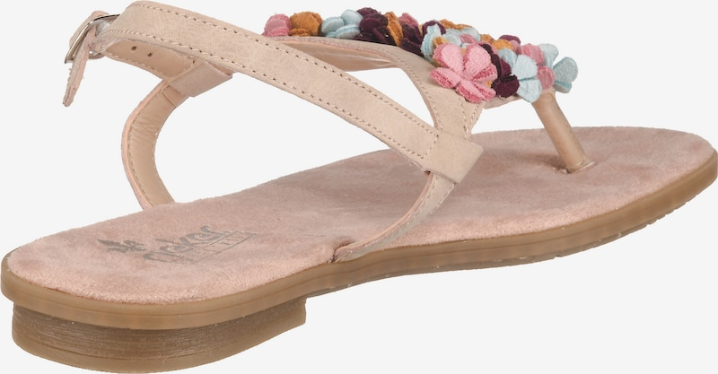 RIEKER Sandaal in Gemengde kleuren / Oudroze H8L54LWZ