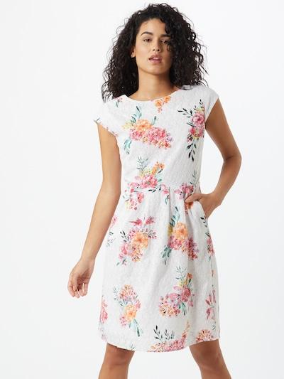 s.Oliver Kleid in mischfarben / weiß, Modelansicht