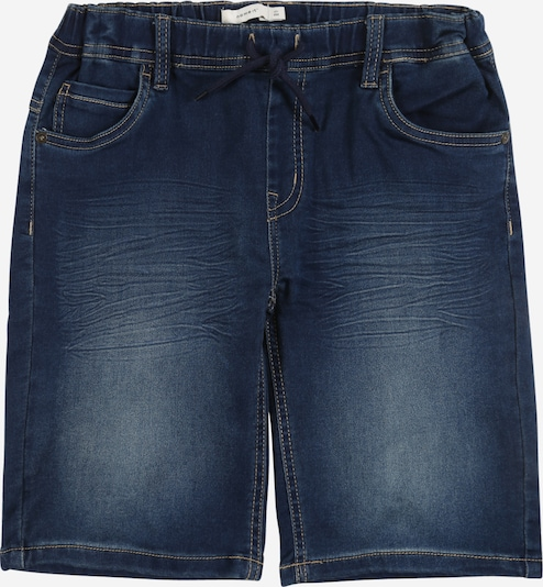 NAME IT Jeansshorts 'NKMRYAN DNMTHAYER' in blue denim, Produktansicht