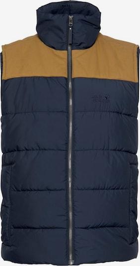 Sportinė liemenė 'Lakota' iš JACK WOLFSKIN , spalva - tamsiai mėlyna jūros spalva / garstyčių spalva, Prekių apžvalga