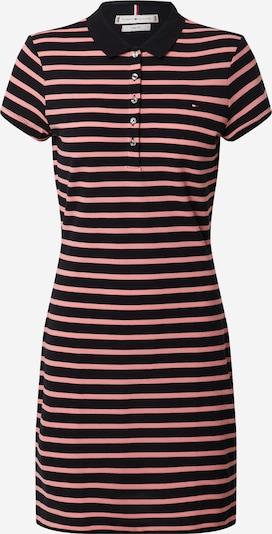 TOMMY HILFIGER Kleid in pastellpink / schwarz, Produktansicht