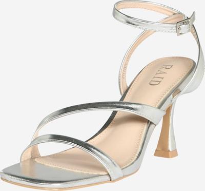 Raid Sandalette 'BRYNA' in silber, Produktansicht