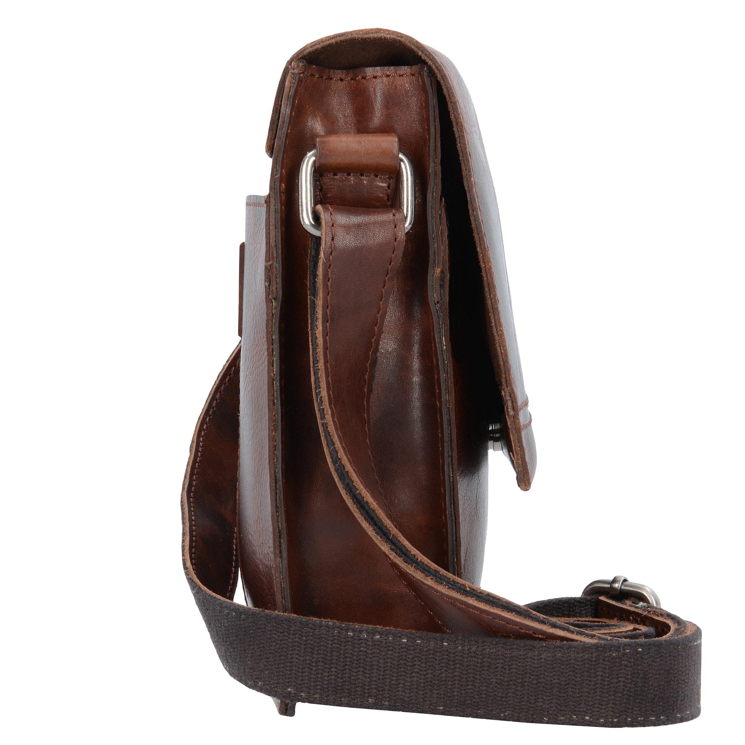 Umhängetasche Umhängetasche OckerSepia 'saddle' In Harold's Harold's L5AqSc4R3j