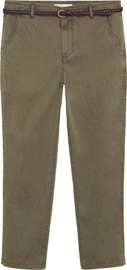 MANGO Hose 'PANTALON' in beige / khaki, Produktansicht