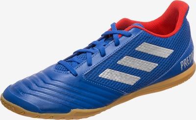 ADIDAS PERFORMANCE Voetbalschoen 'Predator 19.4 Sala Indoor' in de kleur Blauw / Rood / Zilver, Productweergave