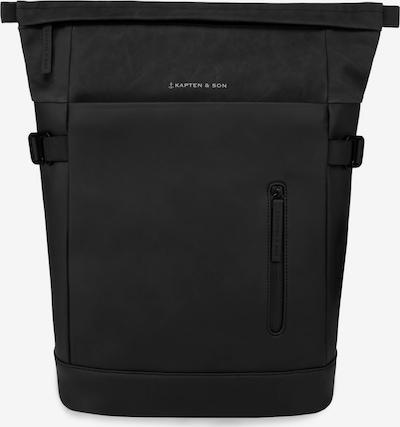 Kapten & Son Rucksack 'Aarhus' in schwarz, Produktansicht