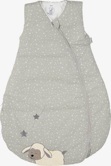STERNTALER Śpiwór 'Stanley' w kolorze jasnoszary / nakrapiany szarym, Podgląd produktu