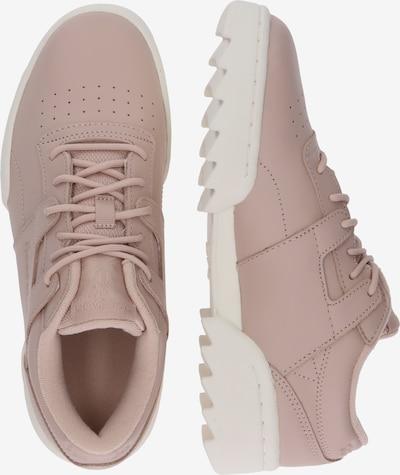 Reebok Classic Sneaker 'WORKOUT RIPPLE OG' in rosé / weiß: Seitenansicht