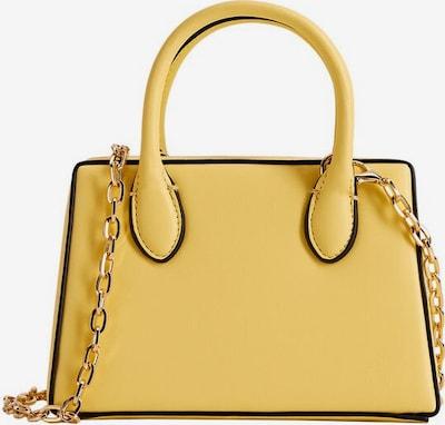 MANGO Handtasche in gelb / schwarz, Produktansicht