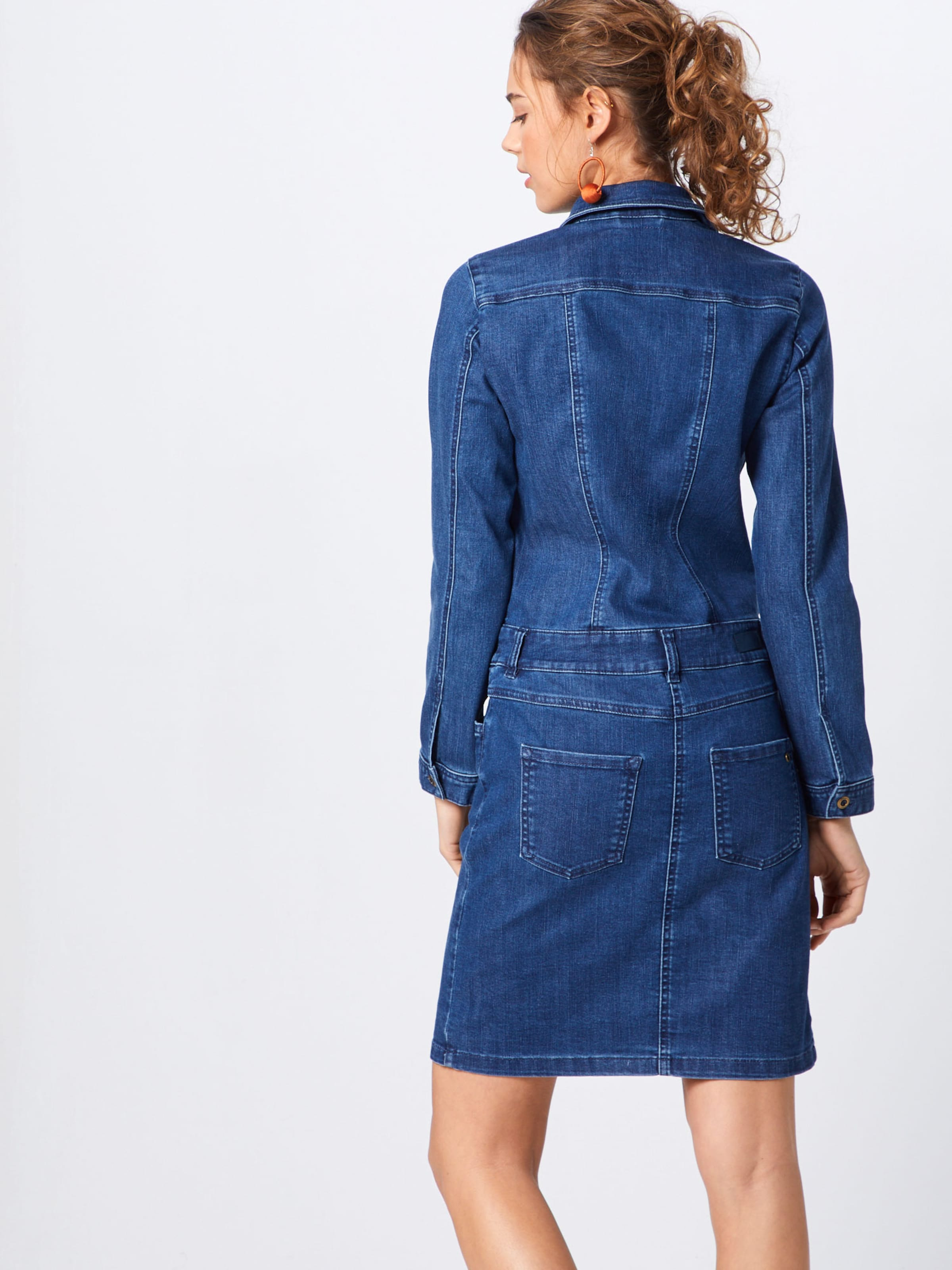 Label Denim oliver In Blue Jeanskleid S Red zGSVUqLpM