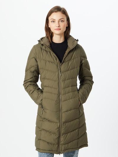 sár színek JACK WOLFSKIN Funkcionális kabátok 'Selenium', Modell nézet