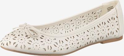 UNLIMITED Ballerina in weiß, Produktansicht