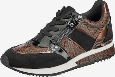 LA STRADA Sneakers in Brown / Black, Item view
