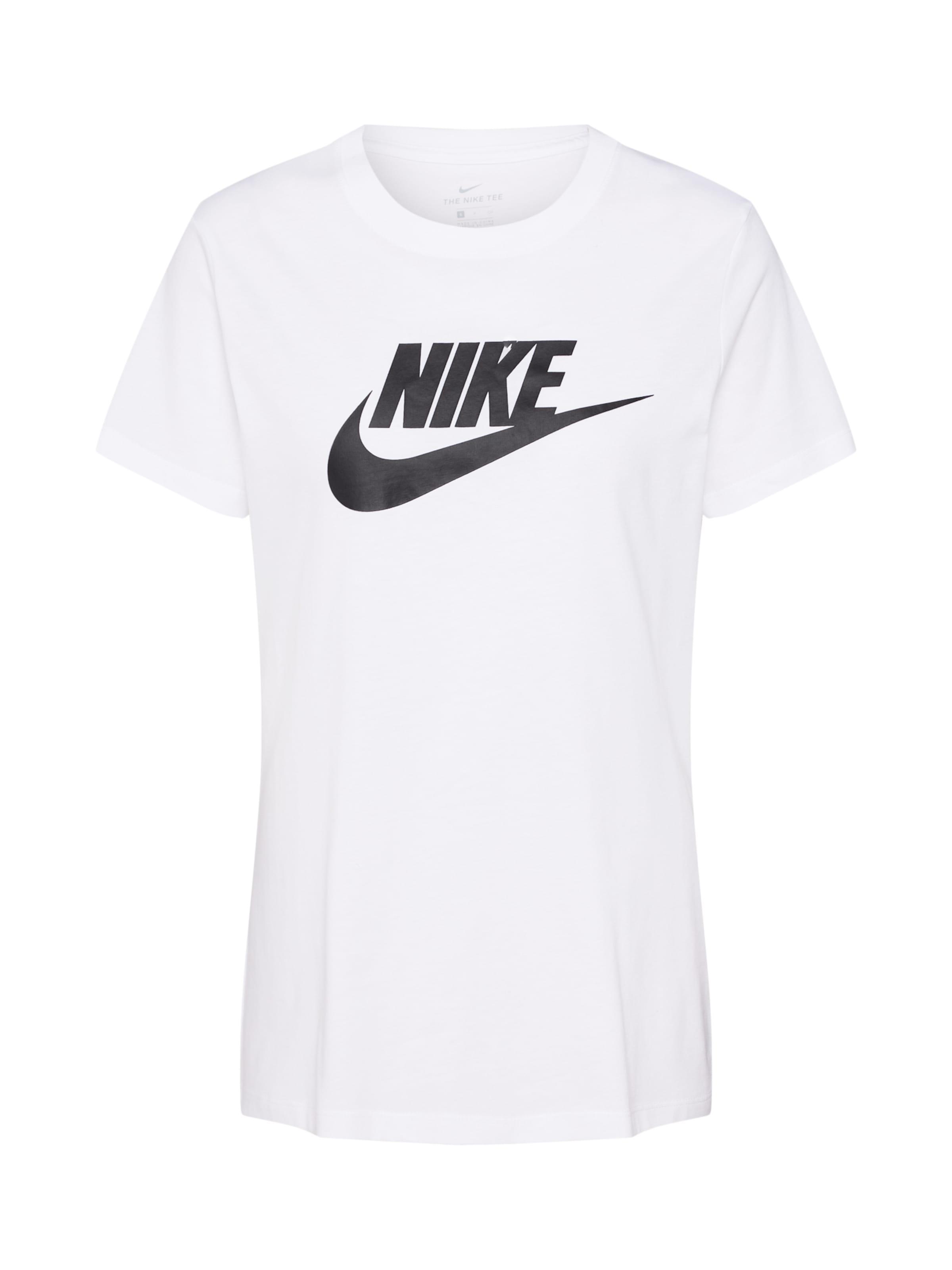 Sportswear 'futura' Nike SchwarzWeiß In Shirt hQtCdsr