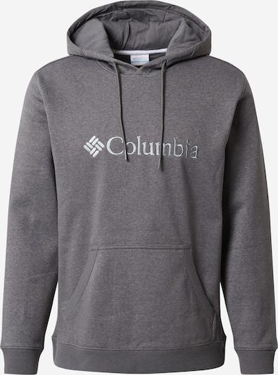 COLUMBIA Athletic Sweatshirt in mottled grey / Silver, Item view