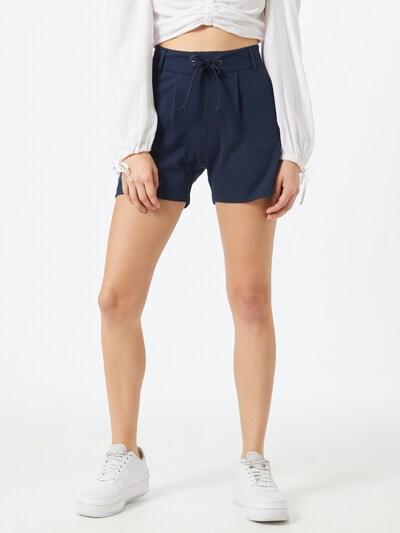 JDY Kalhoty se sklady v pase 'New Pretty' - námořnická modř, Model/ka
