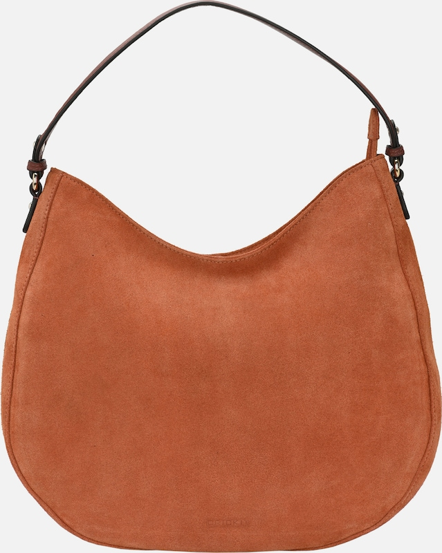 Crickit Hobo Bag 'CARISSIMA' in braun / cognac: Frontalansicht