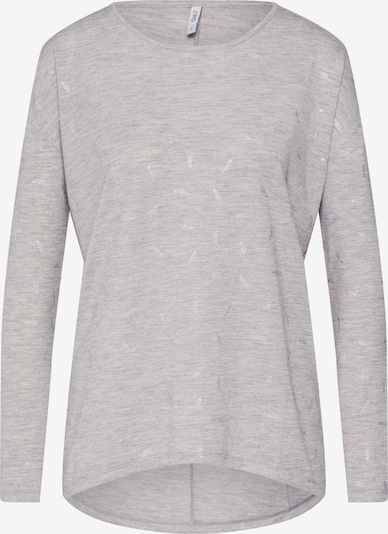 ONLY Pullover 'CAMERA' in hellgrau, Produktansicht