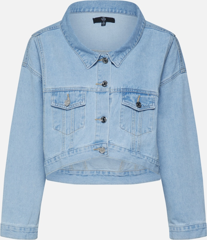 Missguided Jacke in blue denim: Frontalansicht