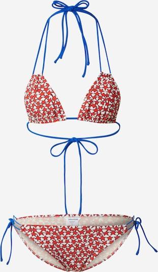 Zadig & Voltaire Bikiny 'WHITE ALICE' - modrá / červená / biela, Produkt
