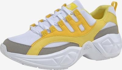 KAPPA Sneaker 'OVERTON' in gelb, Produktansicht