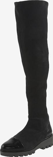 heine Overknees in schwarz, Produktansicht