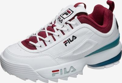 FILA Sneaker 'Heritage Disruptor CB' in jade / weinrot / weiß, Produktansicht