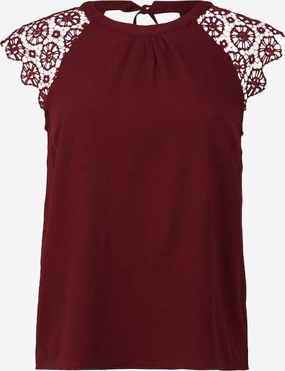 ABOUT YOU Curvy Shirt 'Anja' in bordeaux, Produktansicht