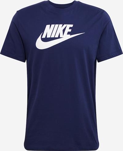 tengerészkék / fehér Nike Sportswear Póló 'M NSW HYBRID SS TEE', Termék nézet