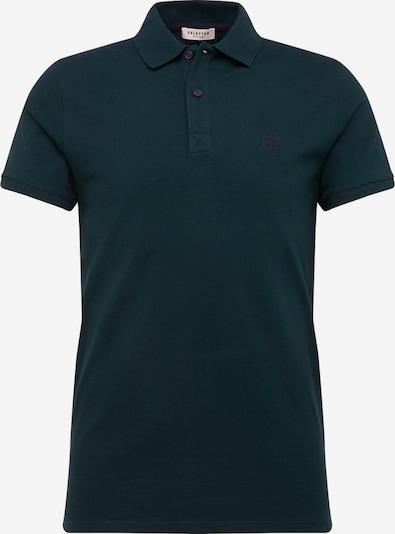 Tricou SELECTED HOMME pe verde închis, Vizualizare produs