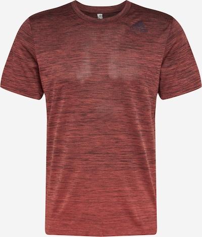 ADIDAS PERFORMANCE T-Shirt fonctionnel en rouge chiné, Vue avec produit