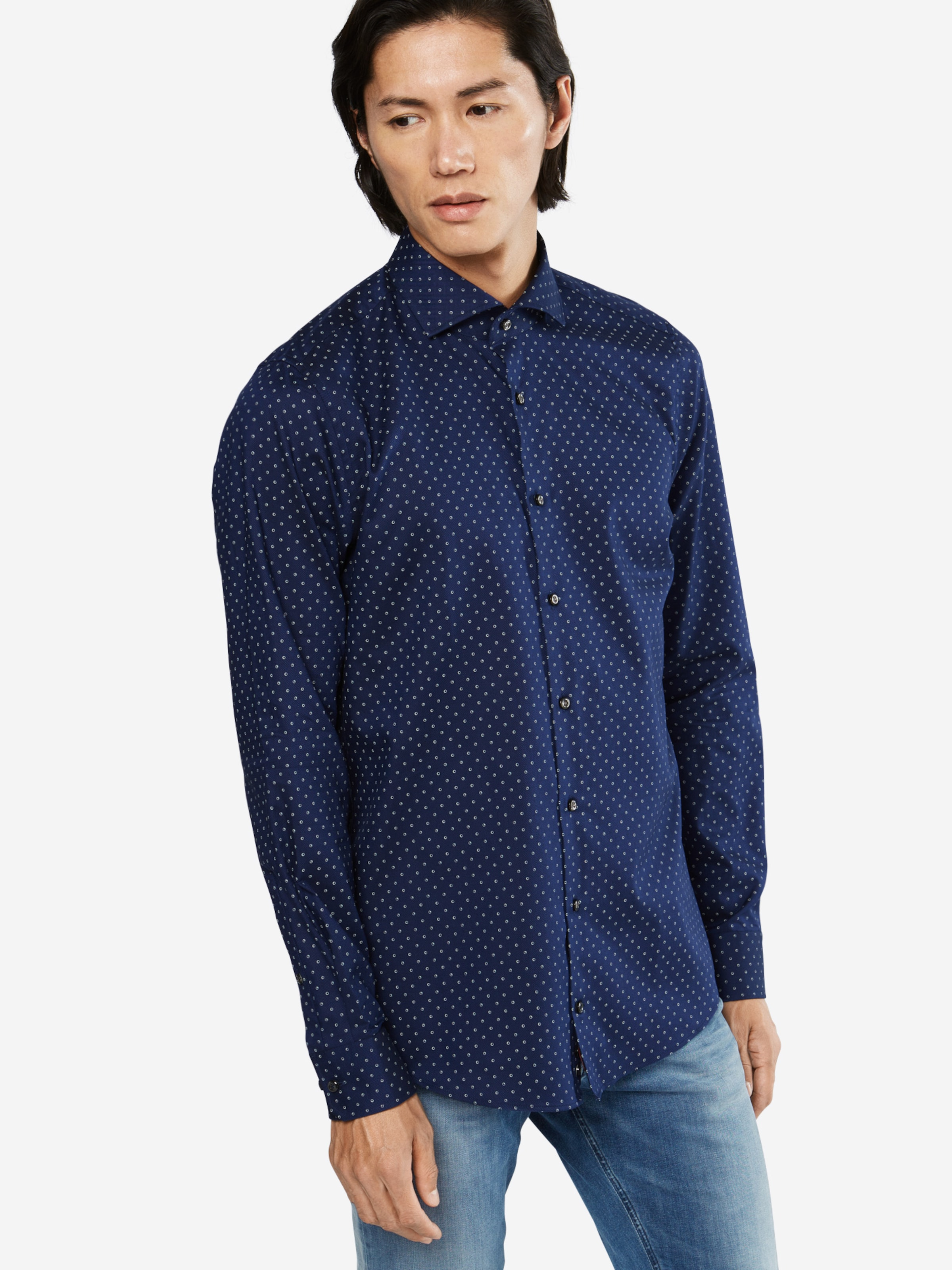 Verkauf Echten Rabatt Online-Shopping JOOP! Slim Fit Hemd 'Panko' Neuer Günstiger Preis vW8cwCMe