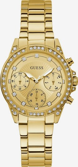 GUESS Multifunktionsuhr 'Gemini, W1293L2' in champagner / gold, Produktansicht