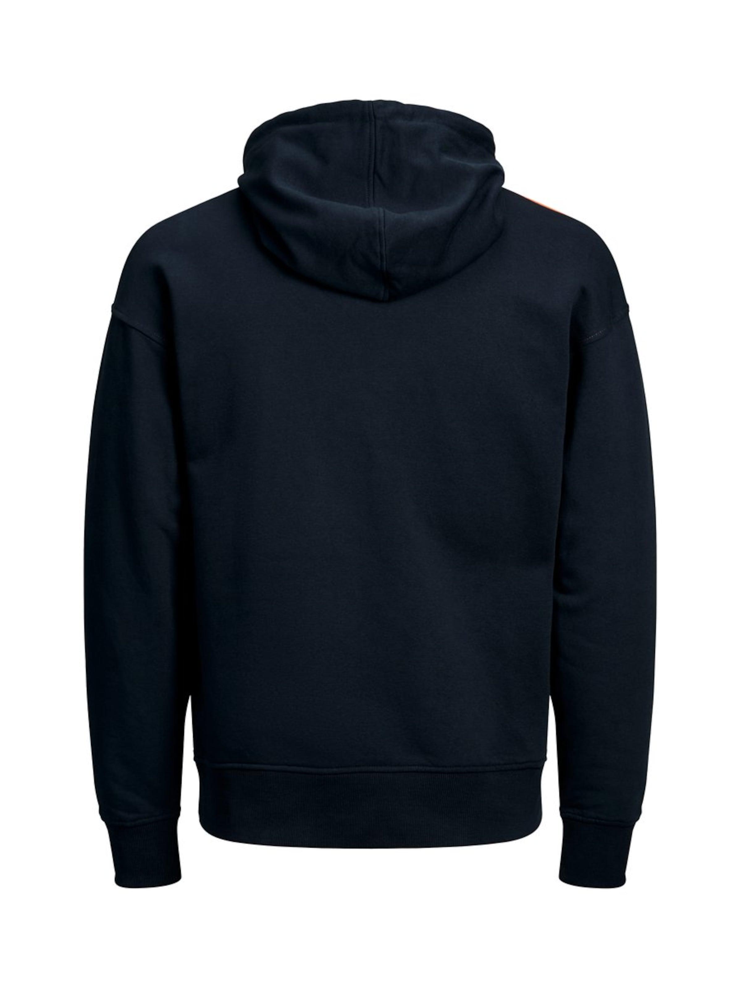Sweatshirt NachtblauOrange In Jackamp; In Sweatshirt Jackamp; Jones Jones NachtblauOrange gbfYy76