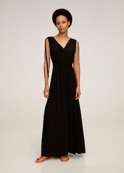 MANGO Zomerjurk 'Klement' in de kleur Zwart, Modelweergave