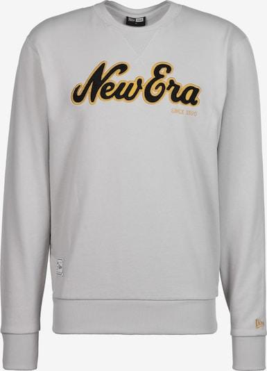 NEW ERA Sweatshirt 'Script Crew' in beige: Frontalansicht