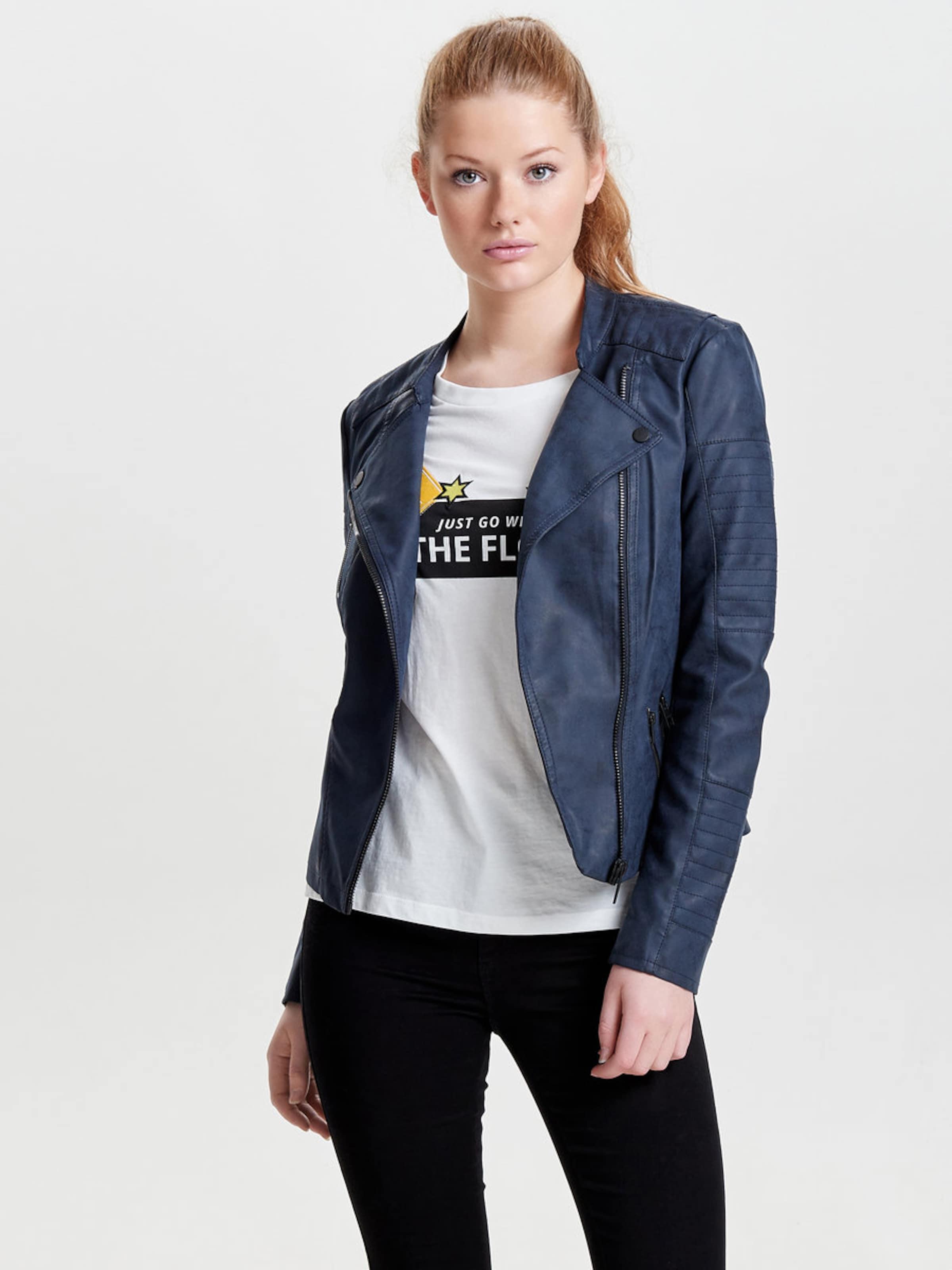 ONLY Bikerjacke in Lederoptik Auslass Für Schön Zum Verkauf 2018 Shop-Angebot Verkauf Online Sammlungen Günstig Online fUy1wn