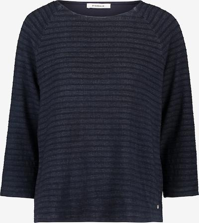 Public Casual-Shirt mit Rundhalsausschnitt in blau, Produktansicht