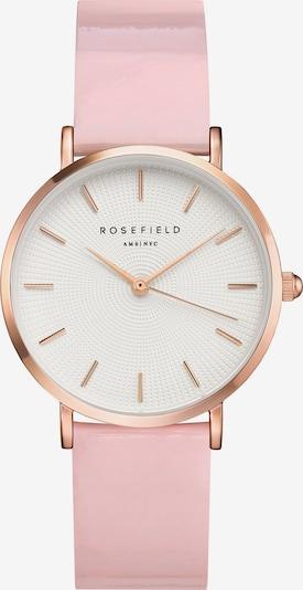 ROSEFIELD Uhr in rosegold / rosa, Produktansicht