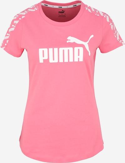 PUMA Funkcionalna majica 'Amplified ' | roza / bela barva, Prikaz izdelka