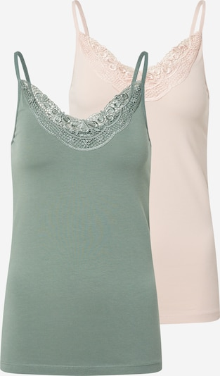 VERO MODA Top 'Inge' in Green / Pink, Item view