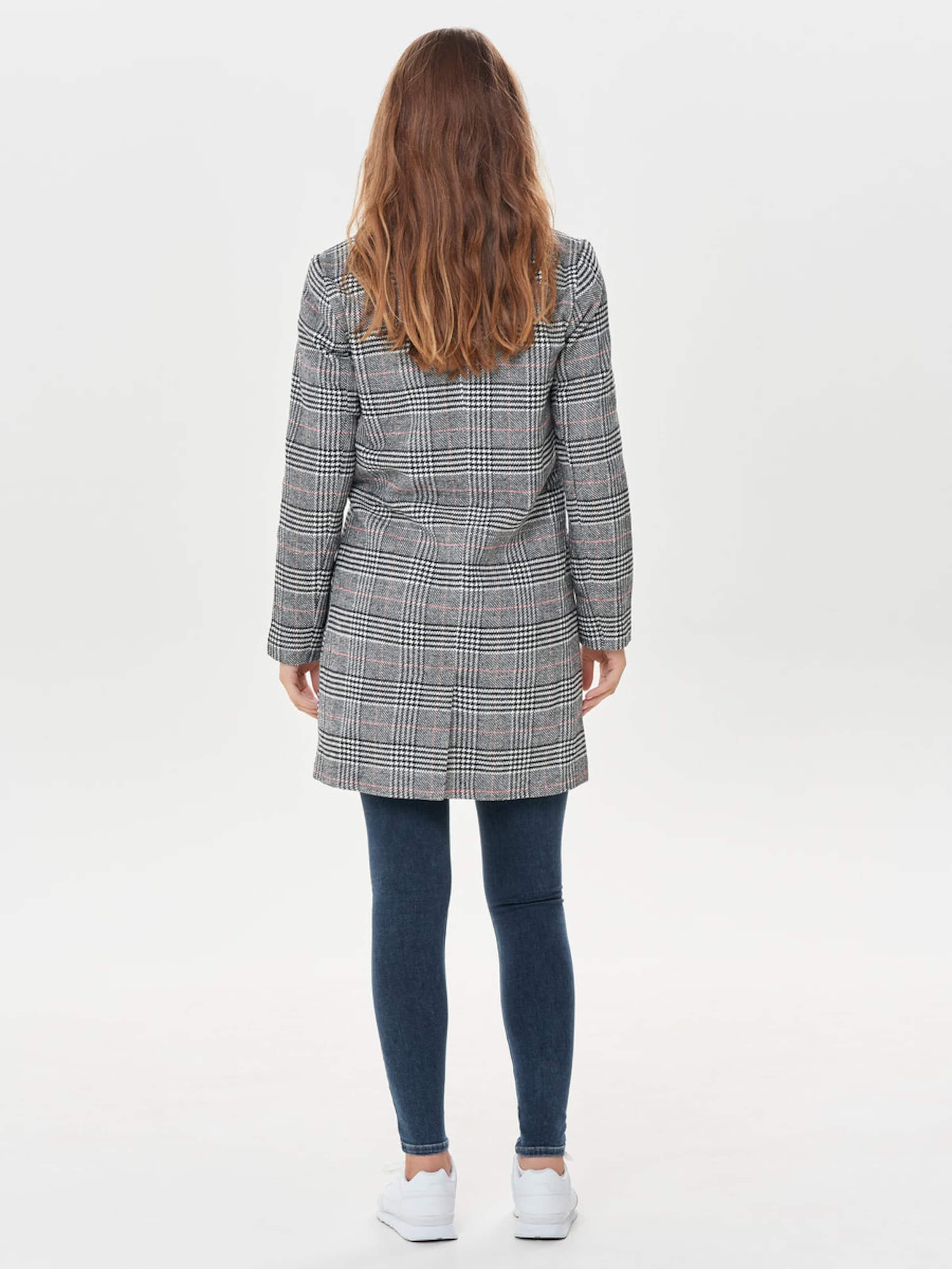 De saison Jacqueline Yong Blanc 'emma' En CorailNoir Manteau Mi 45Lc3qSRAj