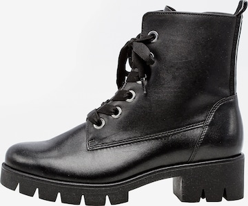 GABOR Lace-Up Ankle Boots in Black