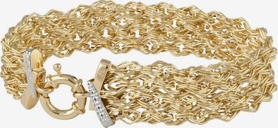 FIRETTI Armband in Fantasiekettengliederung in gold, Produktansicht