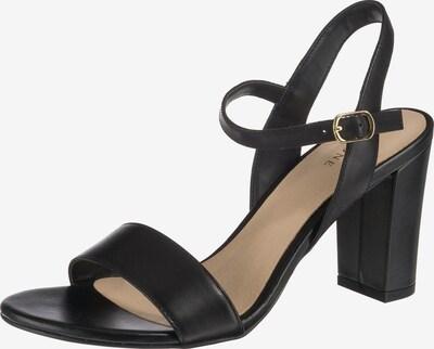 Pier One Sandalen met riem in de kleur Zwart, Productweergave