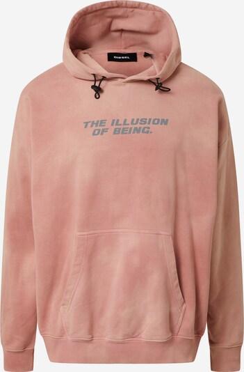 DIESEL Sweat-shirt 'Umeerel' en rose, Vue avec produit