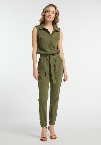 DREIMASTER Overall in khaki, Modelansicht