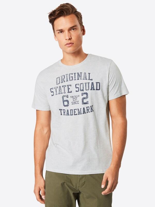Blau shirt Tom Weimeliert T Tailor qX0n6Z