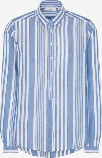 ETERNA Langarm Bluse MODERN CLASSIC in blau / weiß, Produktansicht
