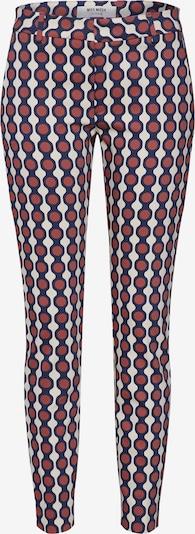 MOS MOSH Kalhoty 'Abbey Mekko Pant' - krémová / hnědá, Produkt